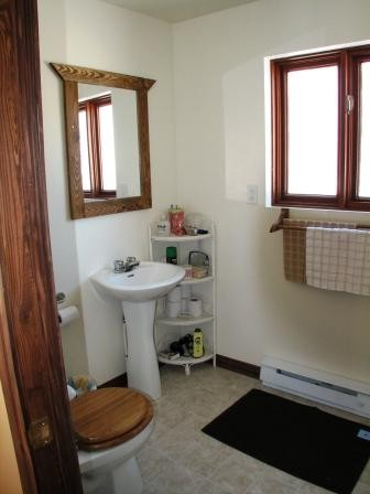 Salle de bain / Location de chalet et yourte, Bellechasse, Chaudière-Appalaches