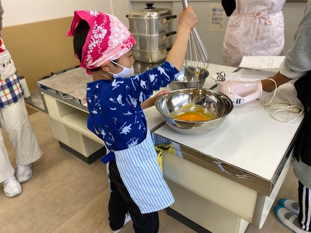 【加唐島】加唐小中学校 お菓子作り