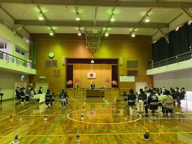 【加唐島】加唐小中学校 入学式