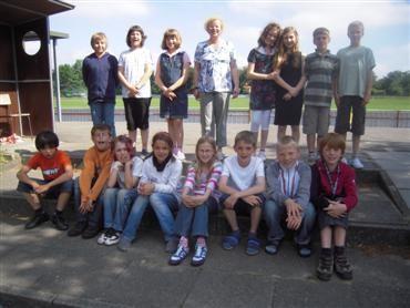Klasse 4b (Frau Voßmeyer)