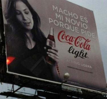 """anuncio """"machista"""""""