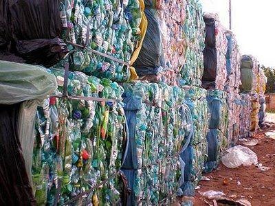 botellas pet recicladas