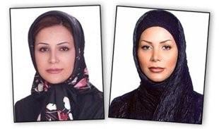 Fotografía de Neda Soltani a la izquierda y la verdadera victima Neda Agha-Soltan a la derecha (BBC News)