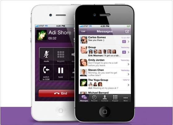Viber es uno de los más populares ya que además de los mensajes permite hacer llamadas gratis.