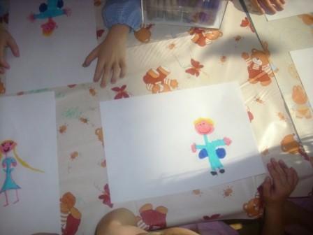 Disegnamo tanti angioletti per decorare le nostre classi