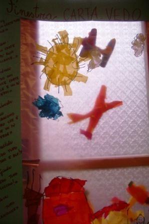 ...una finestra...