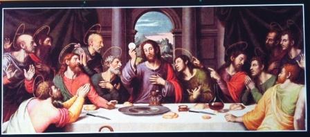 Primo quadro: l'ultima cena