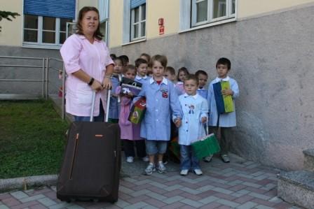 ...verso la nuova scuola!