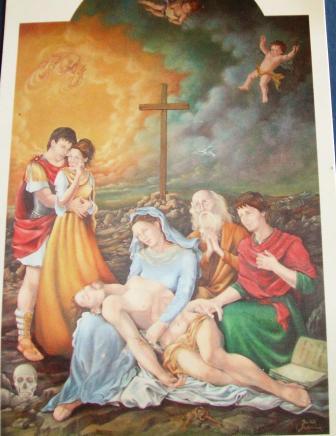 Secondo quadro: la Madonna del sabato santo