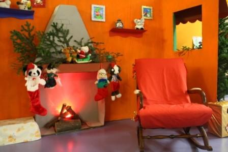 e questa è la casa di Babbo Natale