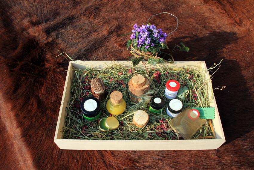 Geschenkbox  Balsame