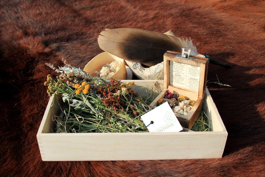 Geschenkbox  Räuchergut