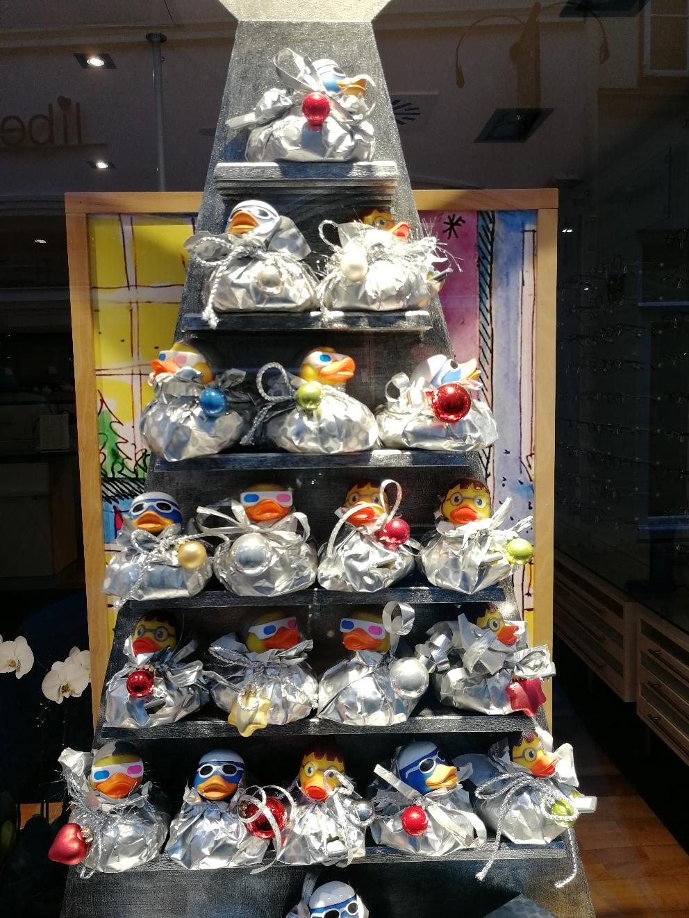 Der Quitscheenten-Weihnachtsbaum 😁