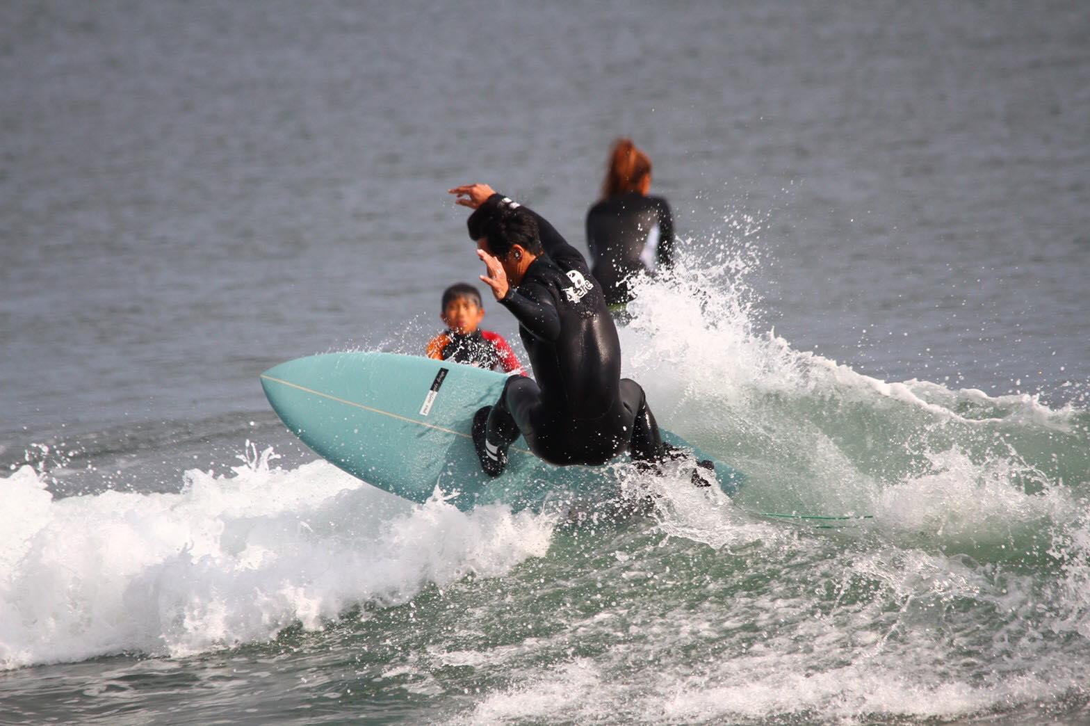 ゆったりとサーフィンを楽しむ方が増えています!