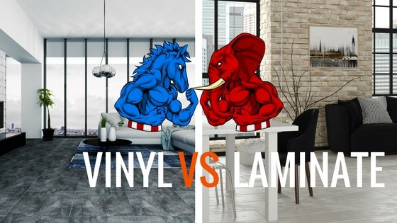 vinyl flooring vs laminate flooring