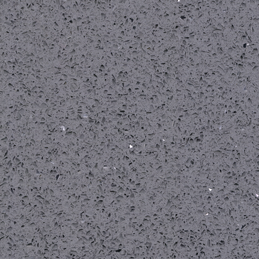 Quartz countertop silver sparkle