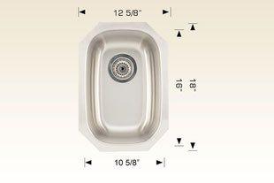 bosco  undermount kitchen sink 207029