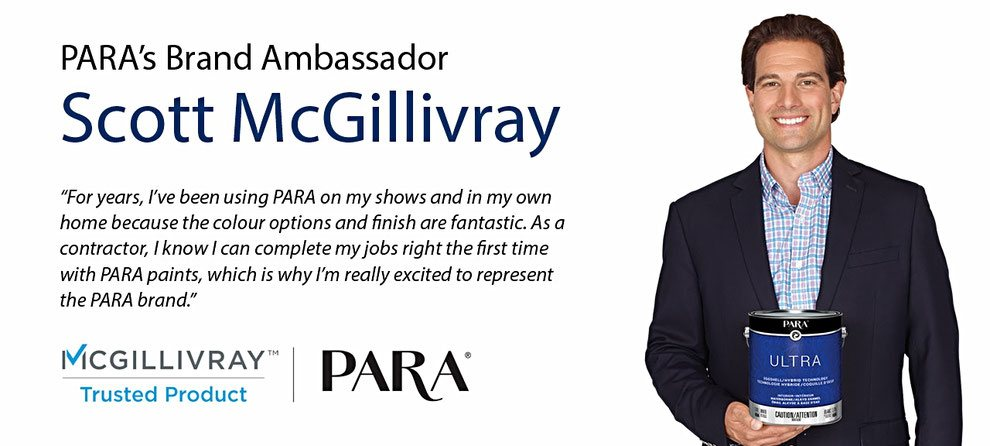 para paints brand ambassador Scott McGillvray