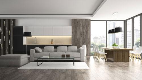 modern laminate floor