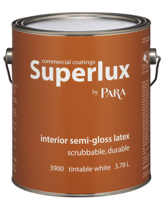 interior paint superlux by para paints