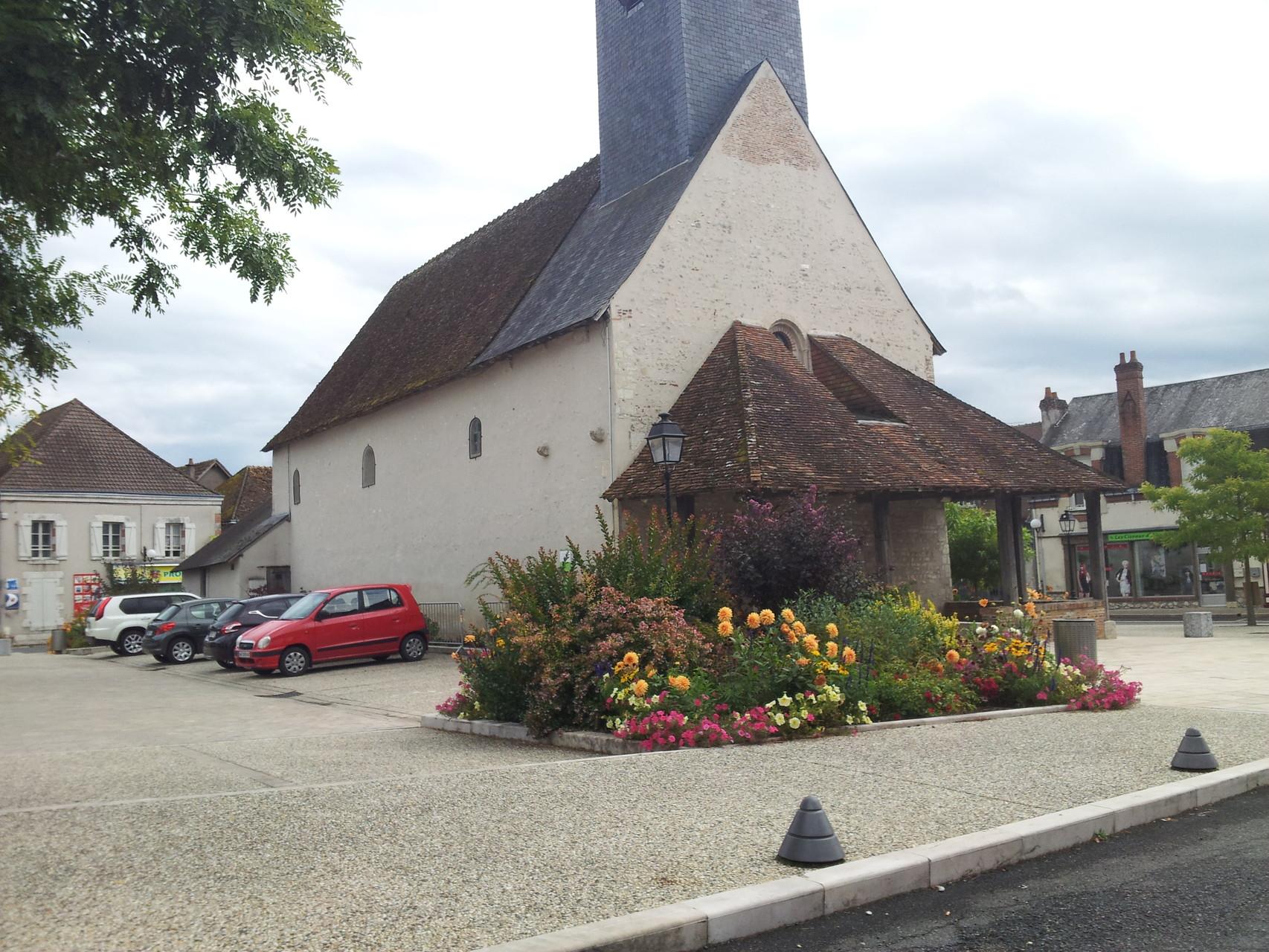 L'église et son caquetoir