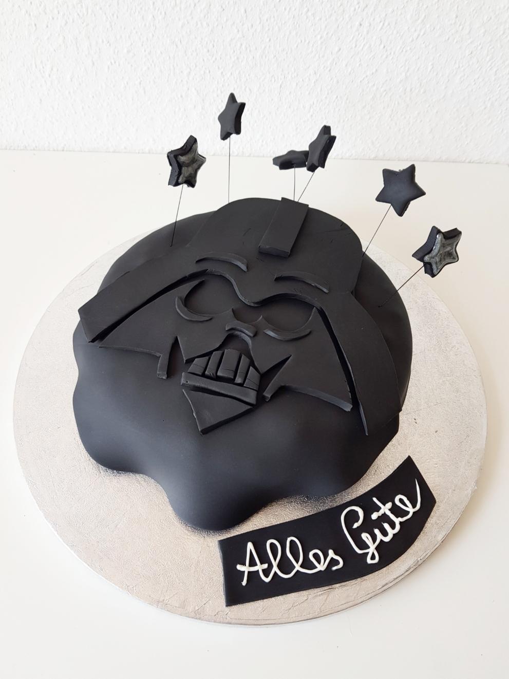 Starwars Torte zum Geburtstag