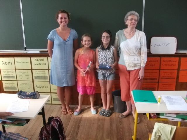 Remise des prix de la dictée francophone scolaire 2015