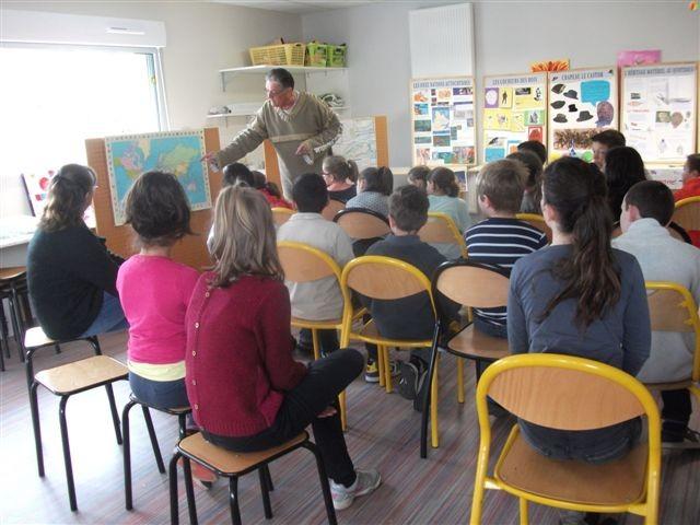Intervention dans les écoles 2014