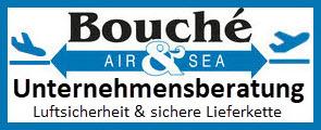 Logo Bouché Air & Sea GmbH | Unternehmensberatung Luftsicherheit & sichere Lieferkette