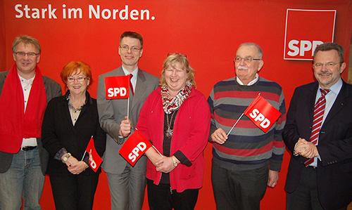 Franz Thönnes und Cordula Schultz für die SPD