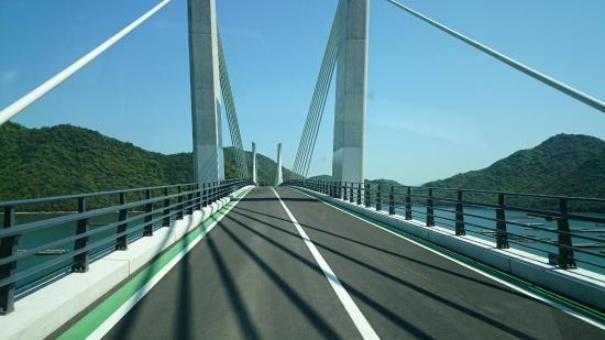 備前(ハート)日生大橋。もうわたりました?
