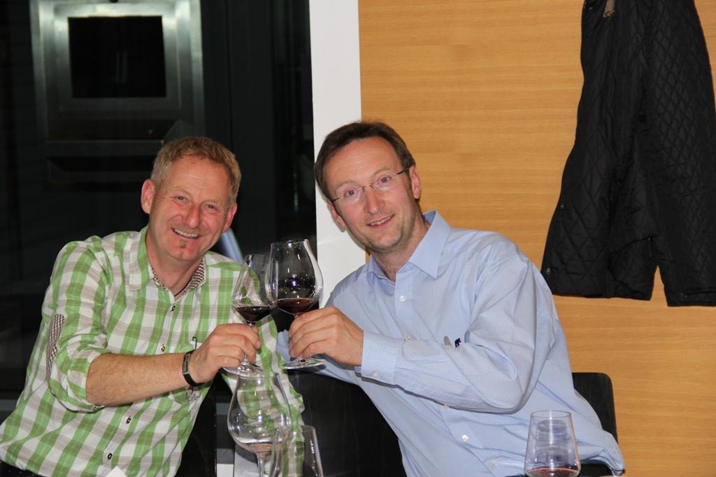 Andreas Flür und Edgar Tangl