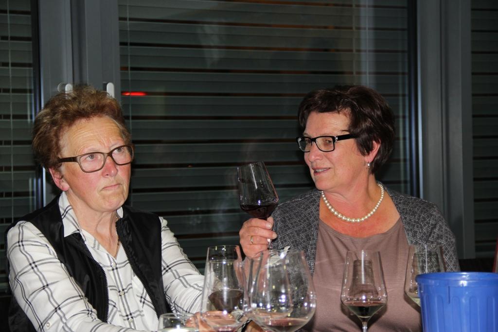 Anneliese Tangl und Brigitte Fischer
