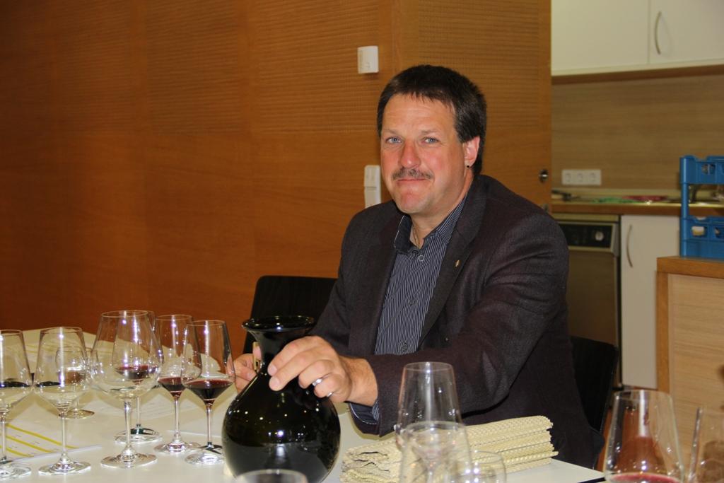 Sommelier Daniel Grüner