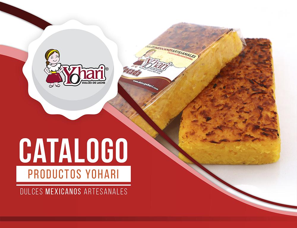 catálogo de productos - Dulces de Leche Yohari