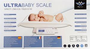 Babywaage MyWeigh Verpackung