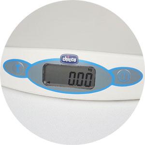 elektronische Waage Chicco: auf 10 g genau, Chicco Waage, Chicco Waage Test