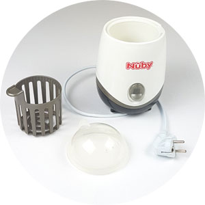 "Mini Sterilisator Nuby ""One Touch"", Sterilisator für unterwegs, portable steriliser, Sterilisator für Schnuller"