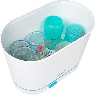 sterilisator avent, Flaschen-Sterilisator einräumen