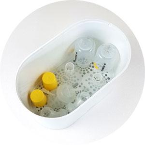 Milchpumpe Sterilisator, Philips Avent 3-in-1