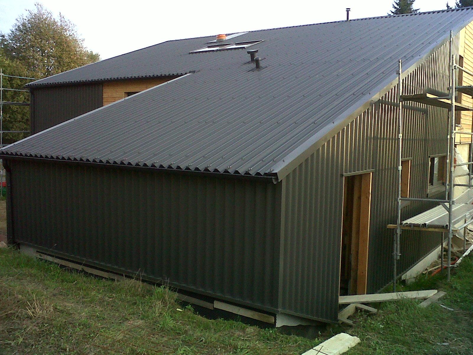Bac acier anti goutte great tole couverture isolee nancy - Tole toiture pas cher ...