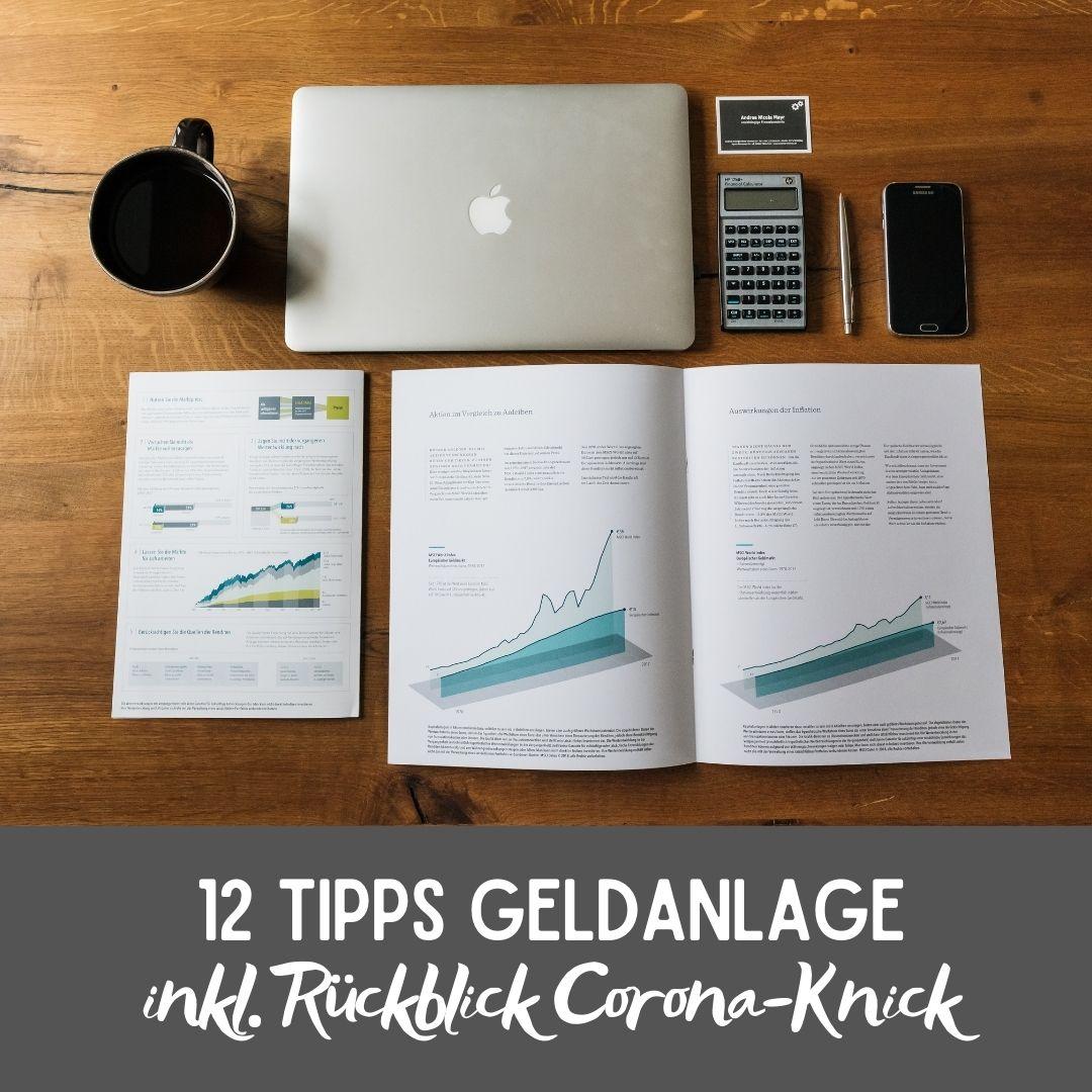 12 Tipps wie du dein Investment besser kontrollieren kannst (+Rückblick Corona-Knick 2020)