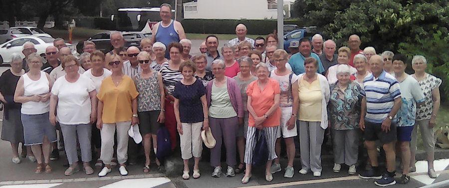 Photo de groupe - Séjour du 22 au 29 juin au VVF La Praillade à Piriac sur Mer