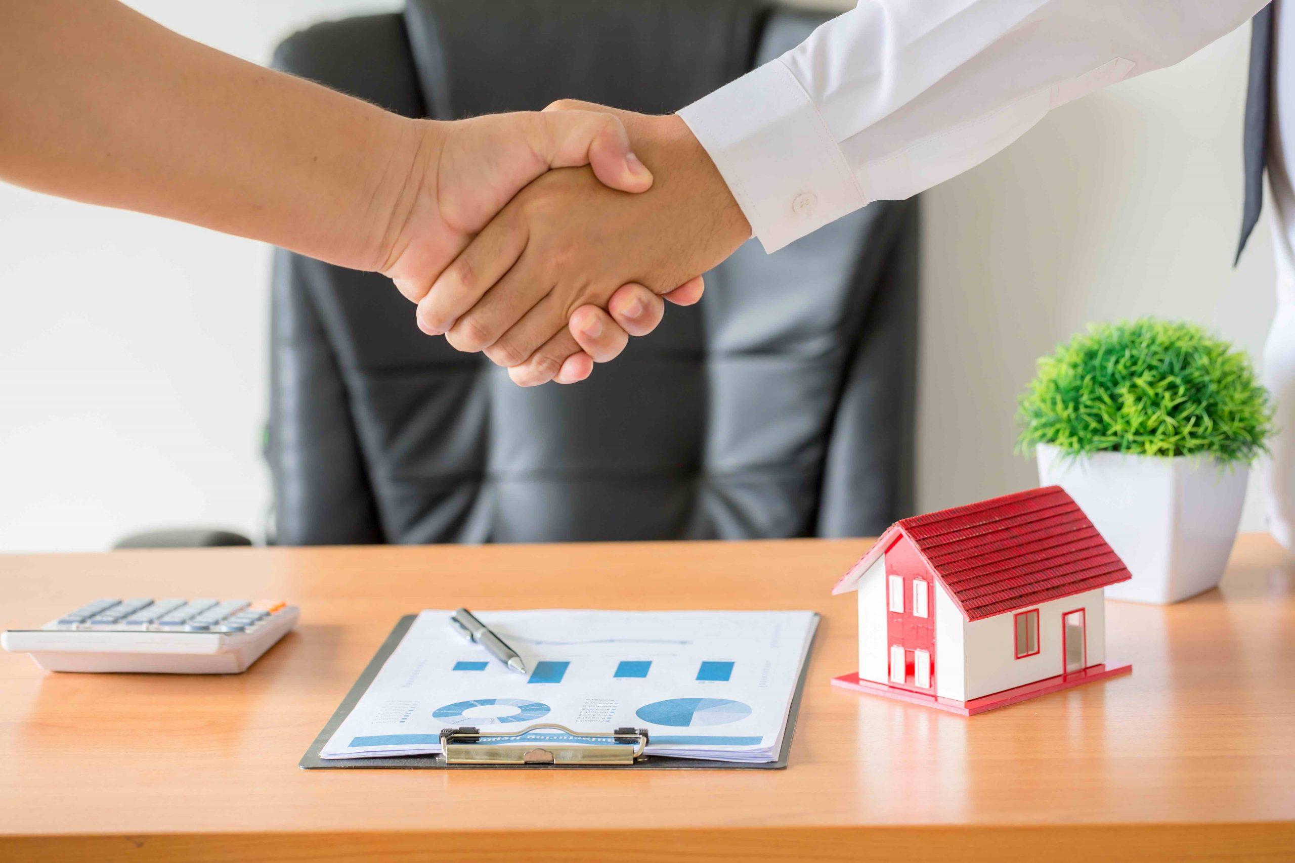 Estructura de un desarrollador de bienes raíces