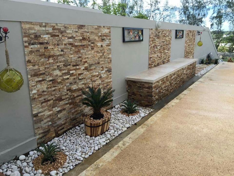 Consejos para decorar muros de jardines