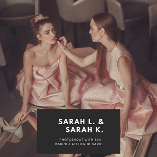 Photoshoot: Sarah L. & Sarah K by Eva Marini part 1