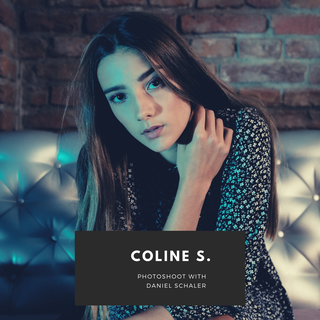 Photoshoot: Coline S. by Daniel Schaler