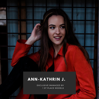 New model: Ann-Kathrin J. signed at 1 st Place Models!