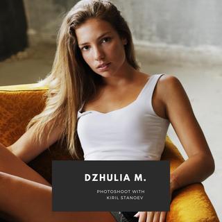 Photoshoot: Dzhulia M. by Kiril Stanoev