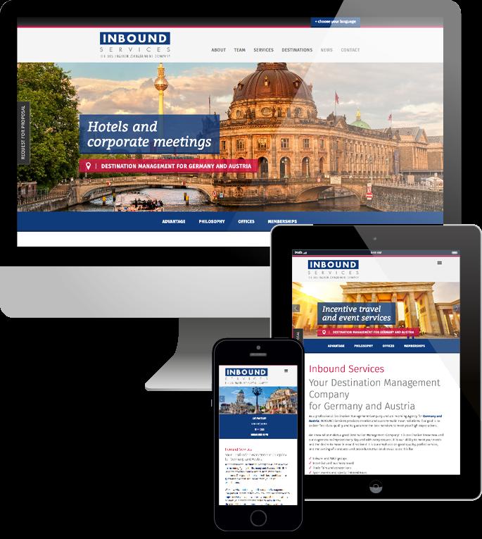 Jimdo responsive Web Design Inbound Services
